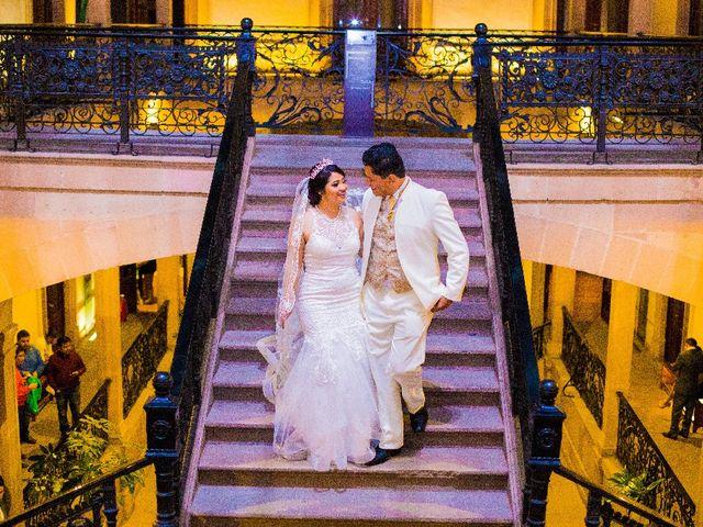 La boda de Oscar Renee  y Elizabeth  en San Luis Potosí, San Luis Potosí 1