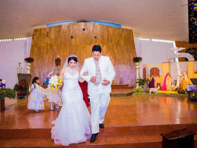 La boda de Oscar Renee  y Elizabeth  en San Luis Potosí, San Luis Potosí 10