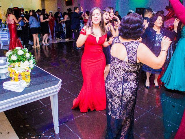 La boda de Oscar Renee  y Elizabeth  en San Luis Potosí, San Luis Potosí 41