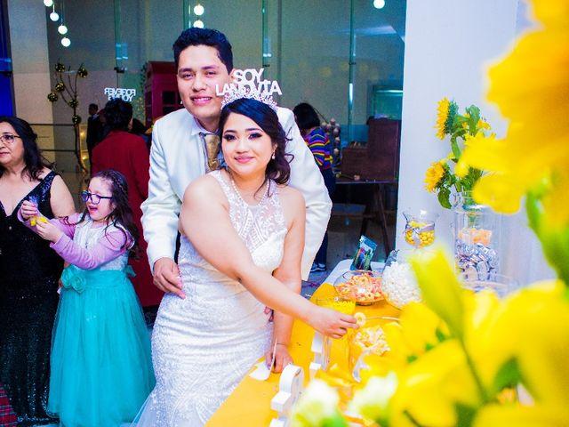 La boda de Oscar Renee  y Elizabeth  en San Luis Potosí, San Luis Potosí 44