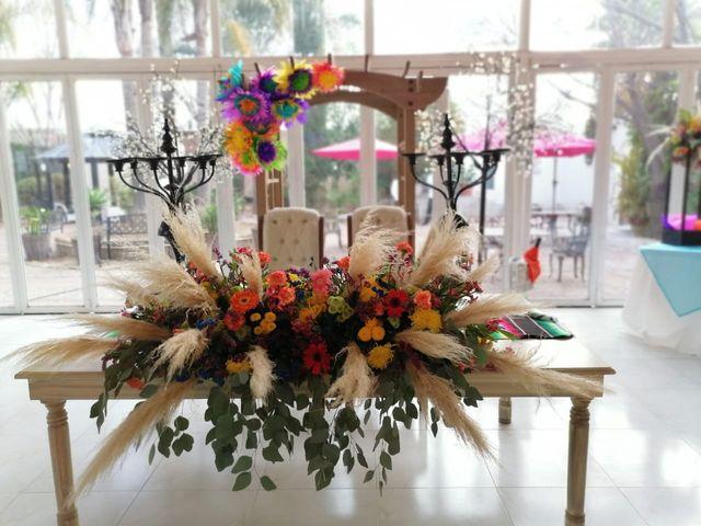 La boda de José y Andrea en Aguascalientes, Aguascalientes 3