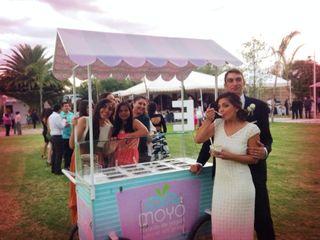 La boda de Paola y Enrico