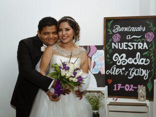 La boda de Gaby y Alex