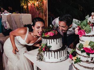 La boda de Kay y David