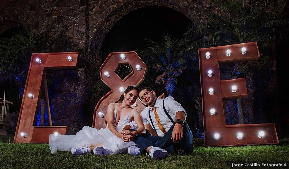 La boda de Eduardo y Cinthya en Tlayacapan, Morelos