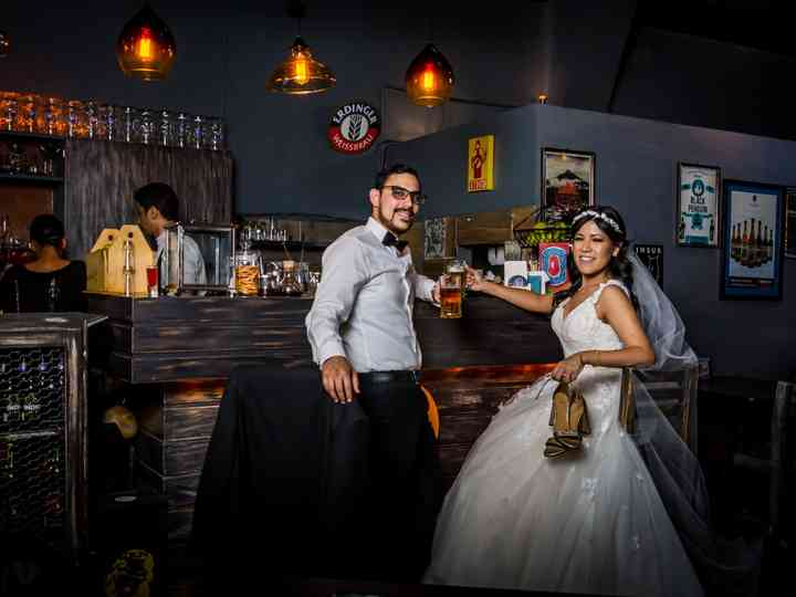 La boda de Aileen y Pepe