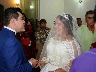 La boda de Alondra  y Osmar  1
