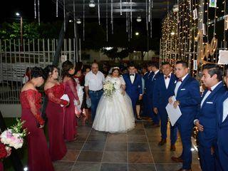 La boda de Alondra  y Osmar  2