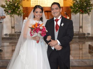 La boda de Mirza y Leonardo
