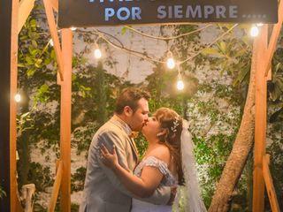 La boda de Cecy y Efrén