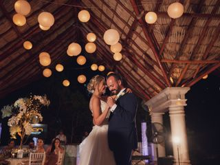La boda de Areli y José