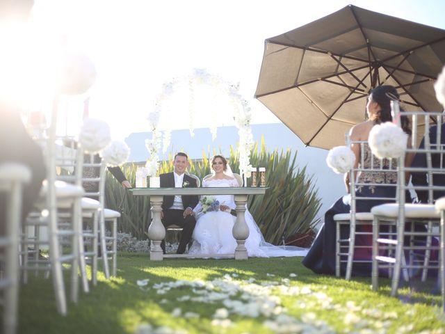 La boda de Ángel y Andrea en Saltillo, Coahuila 1