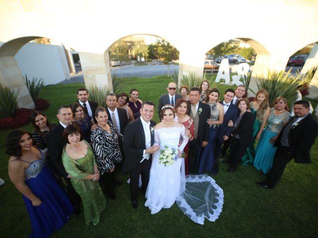 La boda de Ángel y Andrea en Saltillo, Coahuila 12