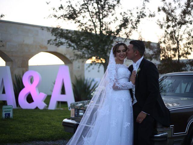 La boda de Ángel y Andrea en Saltillo, Coahuila 13