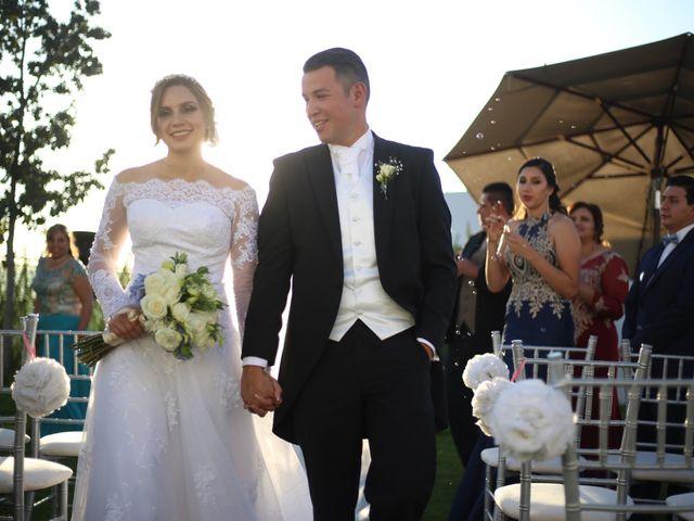 La boda de Ángel y Andrea en Saltillo, Coahuila 14