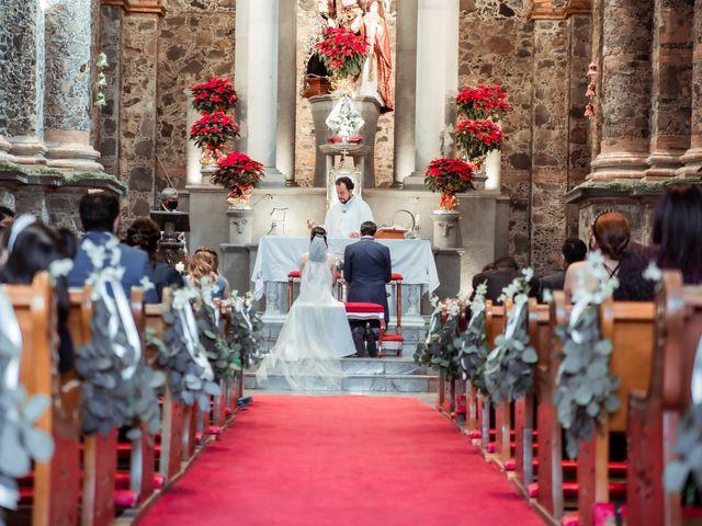 La boda de Fabio y Lilia en Cholula, Puebla 2
