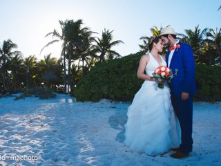 La boda de Pamela y Christian