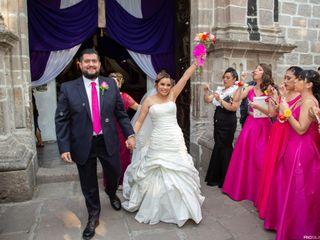 La boda de Guadalupe y Enrique