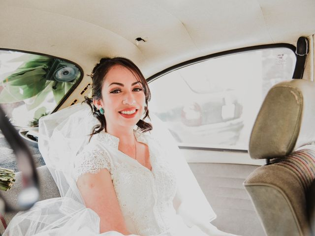 La boda de Diego y Diana en Tepotzotlán, Estado México 3