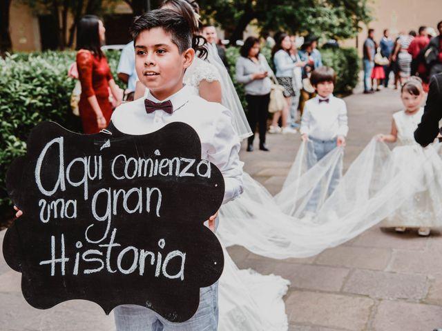 La boda de Diego y Diana en Tepotzotlán, Estado México 7