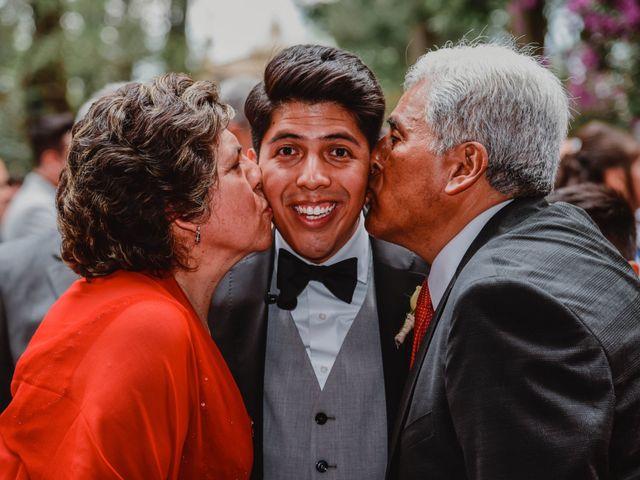 La boda de Diego y Diana en Tepotzotlán, Estado México 8