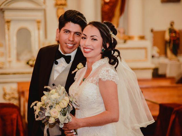 La boda de Diego y Diana en Tepotzotlán, Estado México 12