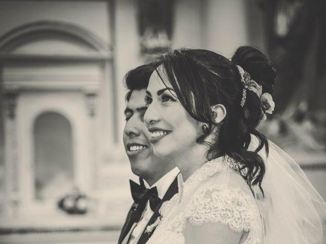 La boda de Diego y Diana en Tepotzotlán, Estado México 15