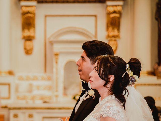 La boda de Diego y Diana en Tepotzotlán, Estado México 16