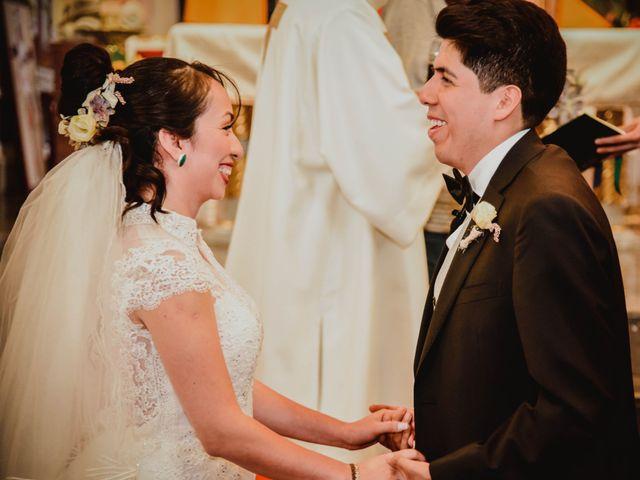 La boda de Diego y Diana en Tepotzotlán, Estado México 17