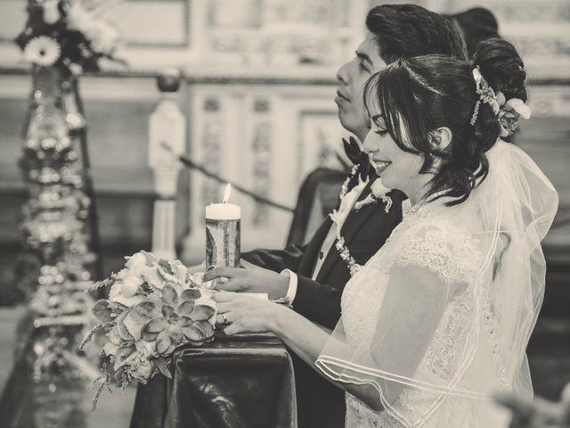 La boda de Diego y Diana en Tepotzotlán, Estado México 18