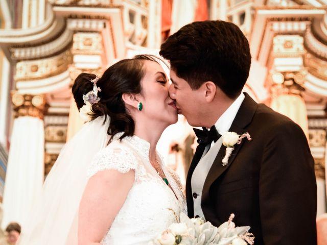 La boda de Diego y Diana en Tepotzotlán, Estado México 19