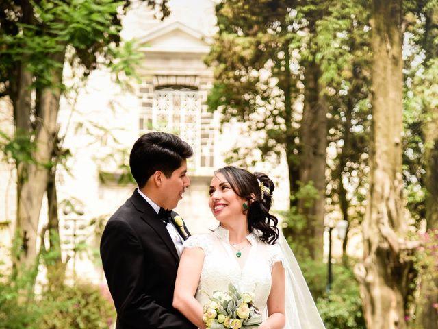 La boda de Diego y Diana en Tepotzotlán, Estado México 21