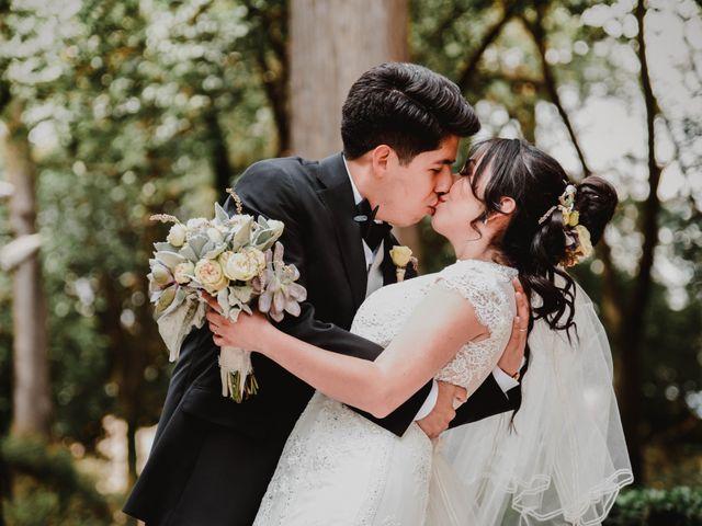La boda de Diego y Diana en Tepotzotlán, Estado México 25