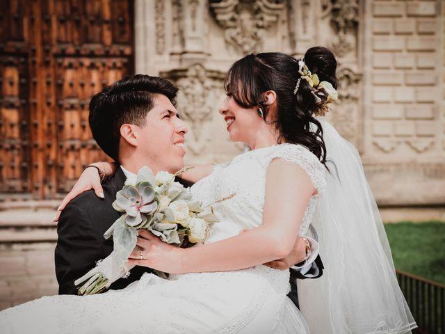 La boda de Diego y Diana en Tepotzotlán, Estado México 28