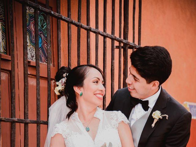 La boda de Diego y Diana en Tepotzotlán, Estado México 29
