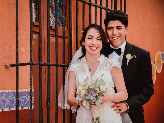 La boda de Diego y Diana en Tepotzotlán, Estado México 30