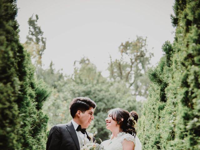 La boda de Diego y Diana en Tepotzotlán, Estado México 32