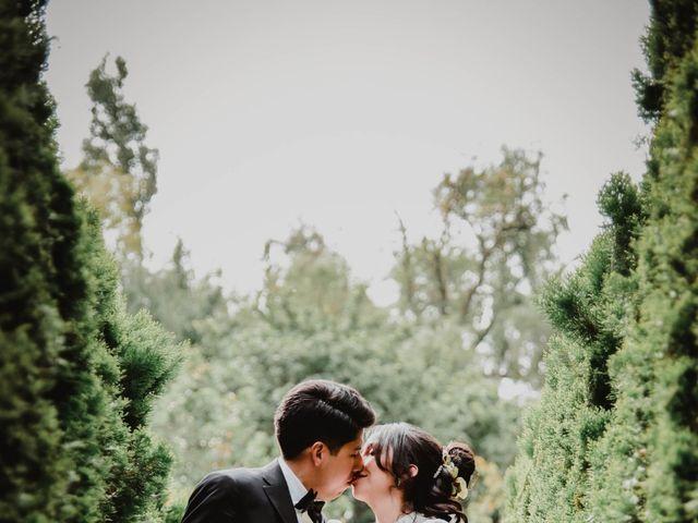 La boda de Diego y Diana en Tepotzotlán, Estado México 33