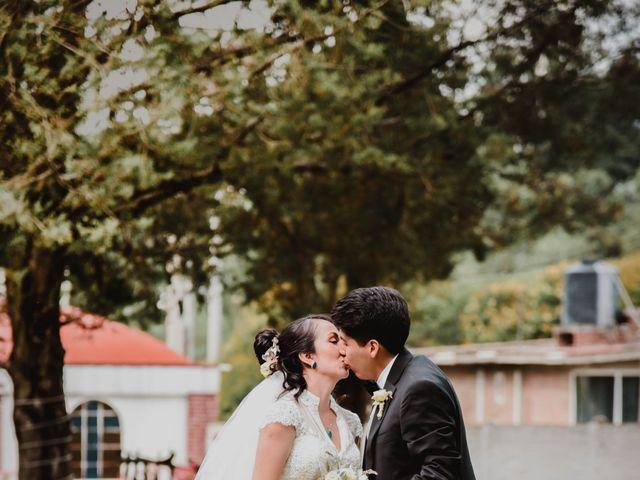La boda de Diego y Diana en Tepotzotlán, Estado México 35