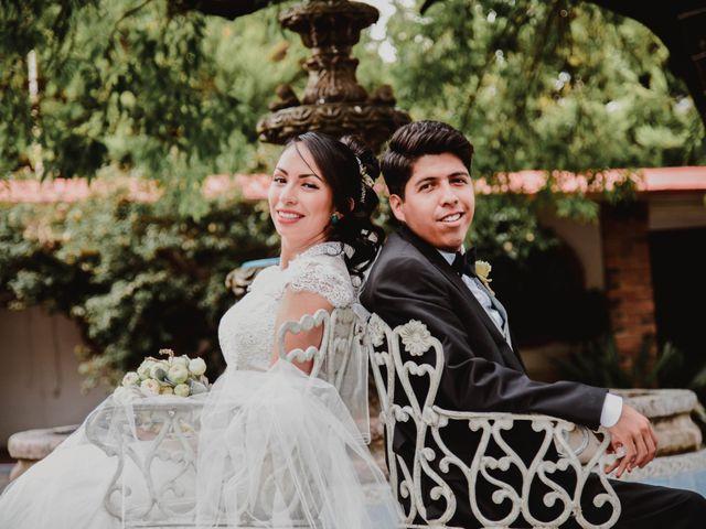 La boda de Diego y Diana en Tepotzotlán, Estado México 36