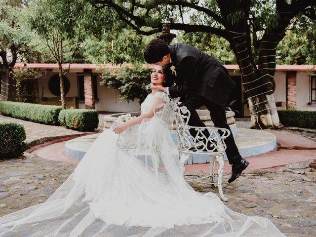 La boda de Diego y Diana en Tepotzotlán, Estado México 37