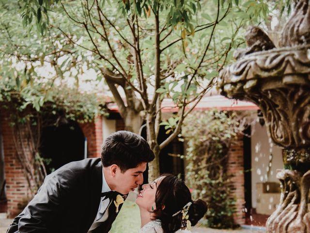 La boda de Diego y Diana en Tepotzotlán, Estado México 40
