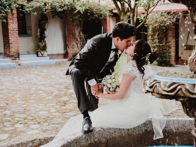 La boda de Diego y Diana en Tepotzotlán, Estado México 41