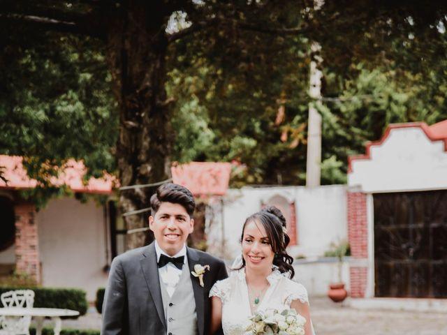 La boda de Diego y Diana en Tepotzotlán, Estado México 43