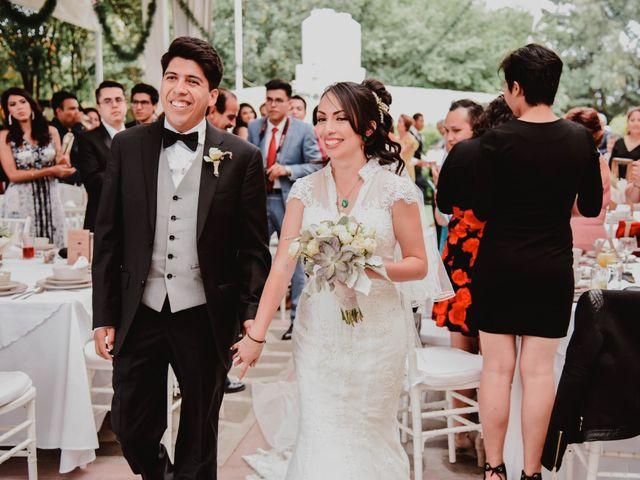 La boda de Diego y Diana en Tepotzotlán, Estado México 45