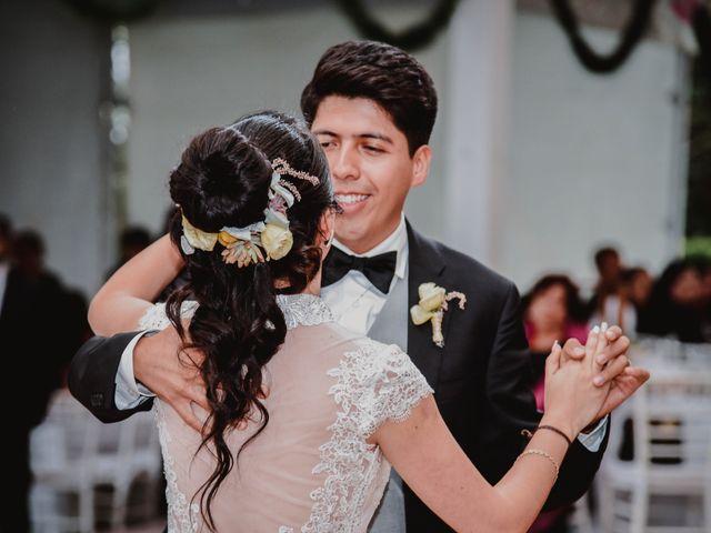 La boda de Diego y Diana en Tepotzotlán, Estado México 50
