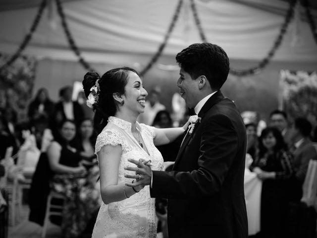 La boda de Diego y Diana en Tepotzotlán, Estado México 53
