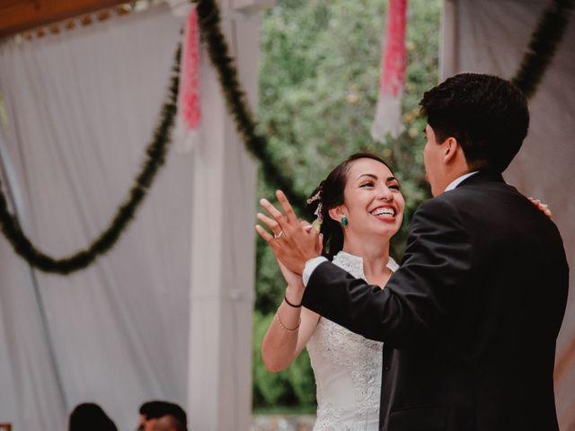 La boda de Diego y Diana en Tepotzotlán, Estado México 54