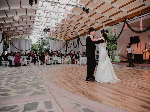 La boda de Diego y Diana en Tepotzotlán, Estado México 55