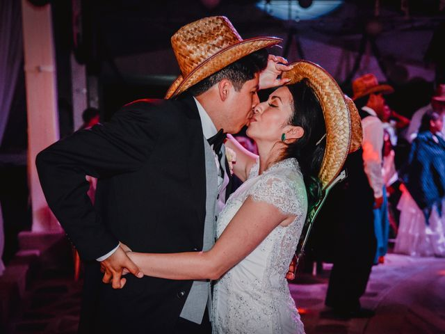 La boda de Diego y Diana en Tepotzotlán, Estado México 101